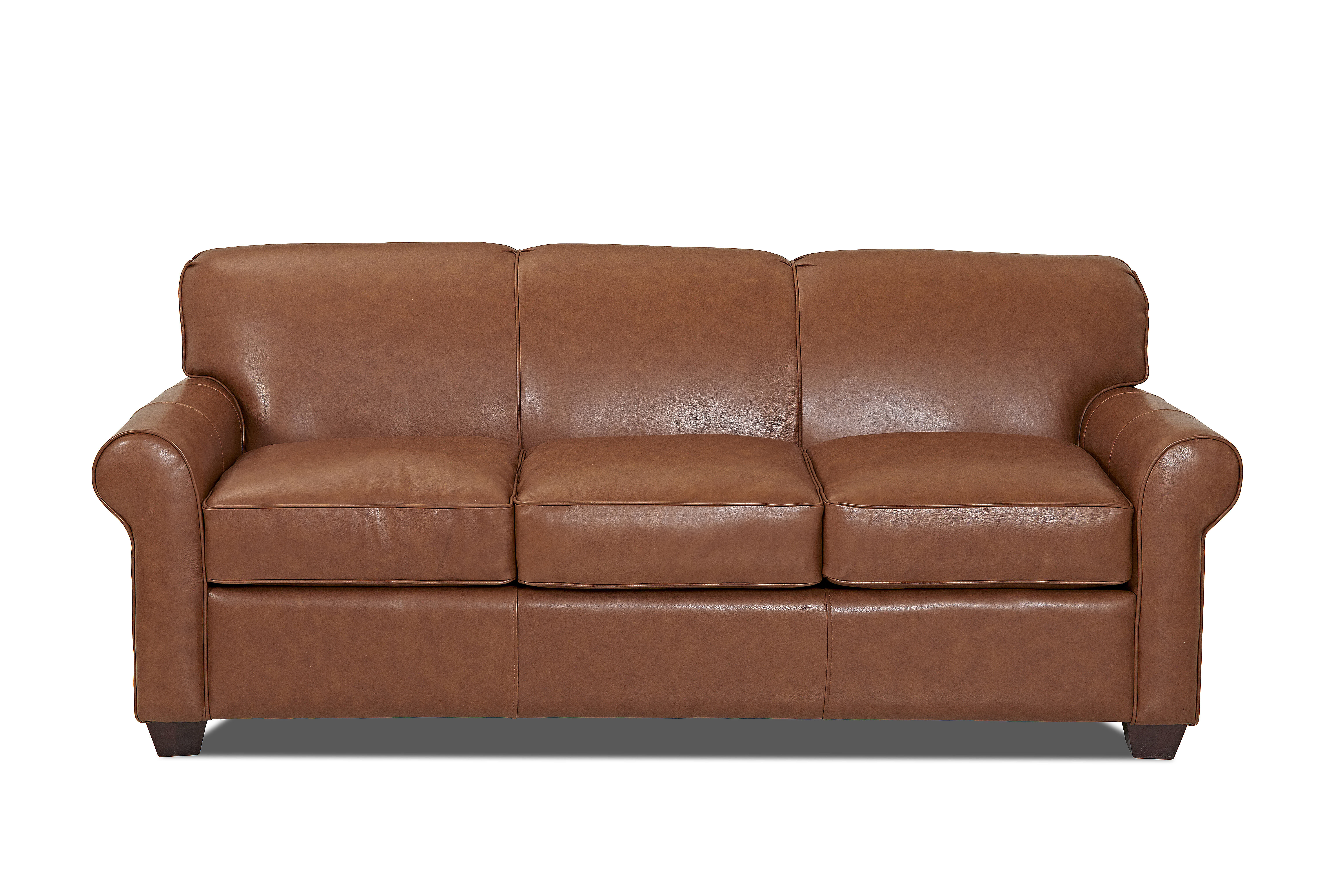 Wayfair Custom Upholstery™ Jennifer Leather Sofa & Reviews | Wayfair