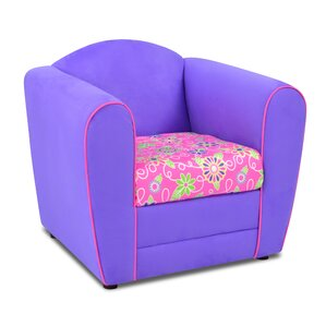 teen microfiber club chair