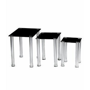3-tlg. Satztisch-Set Crystal von Urban Designs