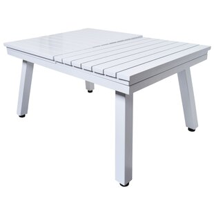 Lebron Folding Metal Coffee Table By Sol 72 Outdoor