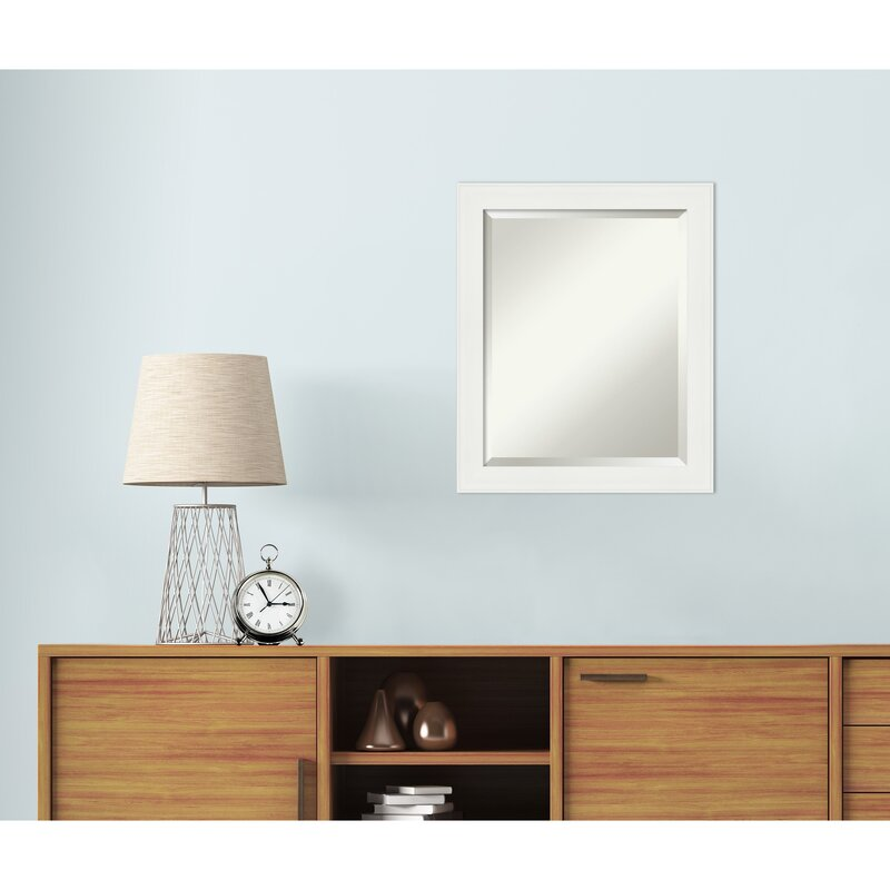 Ebern Designs Akhil Narrow Beveled Wall Mirror Reviews Wayfair