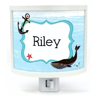 Common Rebels Nautical Namedroppers Personalized Night Light