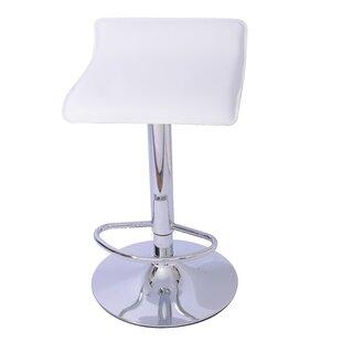 Lanham Adjustable Height Swivel Bar Stool (Set of 2) by Mochi Furniture