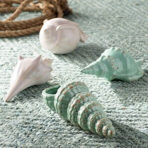 Joselyn 4 Piece Sea Shell Figurine Set