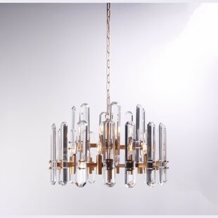 Everly Quinn Adairsville 12-Light Candle Style Chandelier
