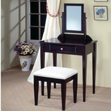 Kinde 2 Piece Vanity Set with Mirror by Alcott Hill®