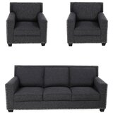 Burswood 3 Piece Living Room Set by Winston Porter