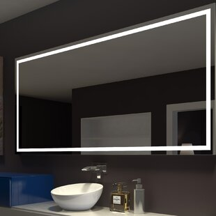 Find for Harmony Illuminated Bathroom / Vanity Wall Mirror By Paris Mirror