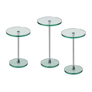 Obed 3 Piece Side Table Set By Wade Logan