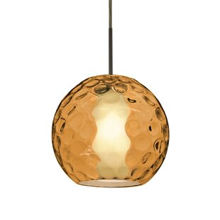 Wrought Studio Elspeth 1-Light Dome Pendant