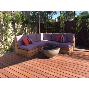 Seaside 5 Piece Teak Sunbr..