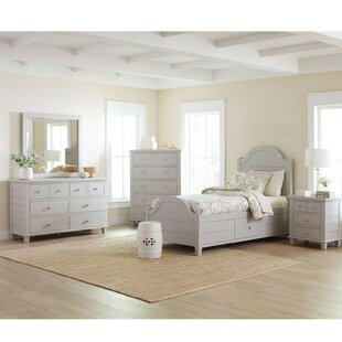 Hines Wooden Storage Platform Configurable Bedroom Set