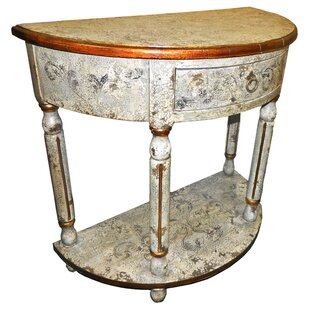 Ricardo Painted Hardwood Console by New World Trading