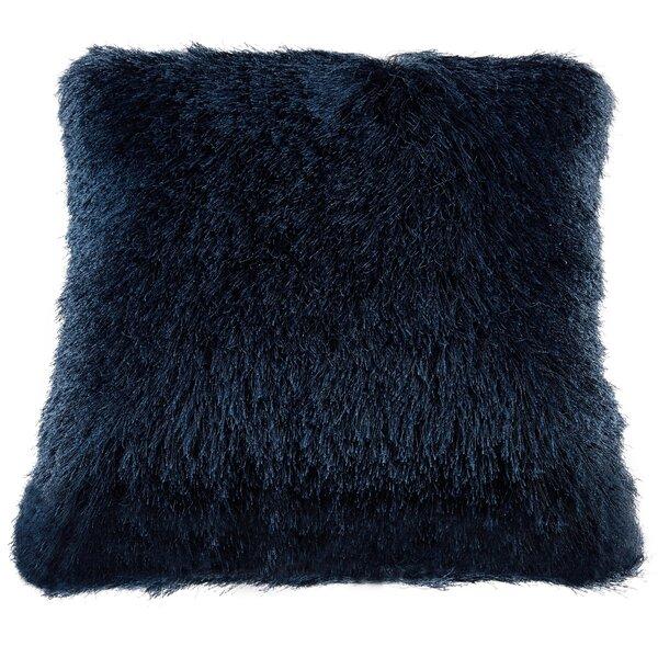 Nicole Miller Silky Shag Decorative Throw Pillow Reviews Wayfair Inspiration Shaggy Decorative Pillows