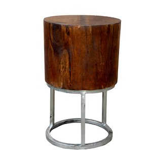 Sanders Round End Table by Foreign Affairs Home Decor