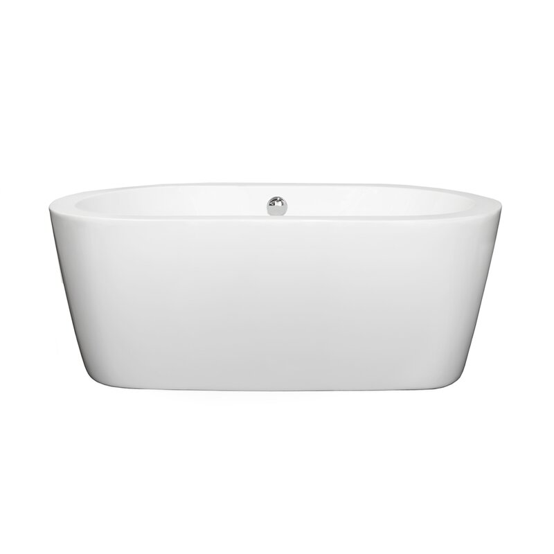Wyndham Collection Mermaid 60 inches Soaking Tub | Wayfair