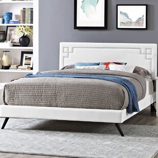 Reviews Kerley Upholstered Platform Bed by Everly Quinn Reviews (2019) & Buyer's Guide