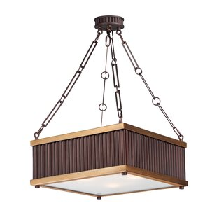 Mercer41 Langton 3-Light Square Pendant