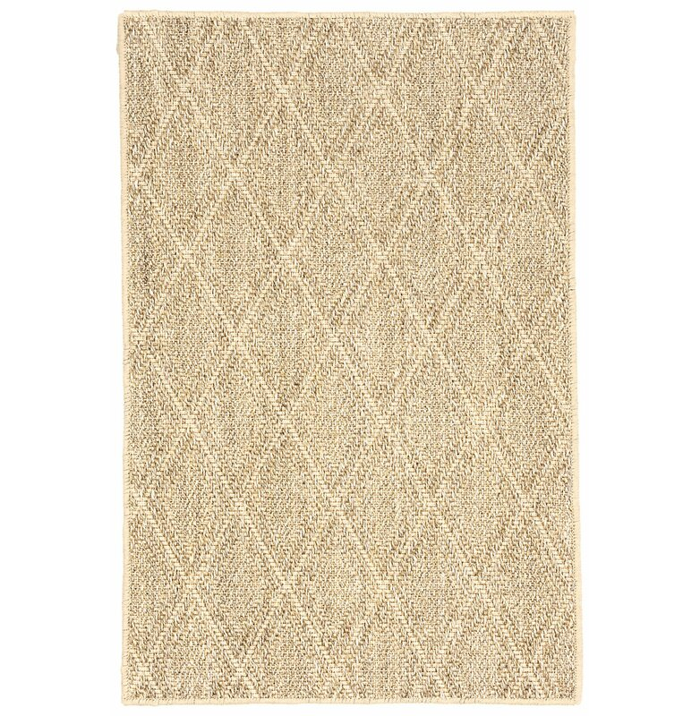 Dash And Albert Rugs Sisal Diamond Sand Area Rug Wayfair