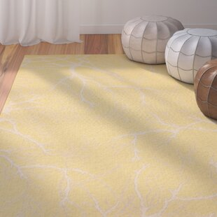 Alder Yellow Indoor/Outdoor Area Rug