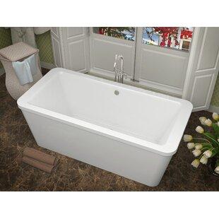 Buena 67 X 32 Freestanding Air Bathtub