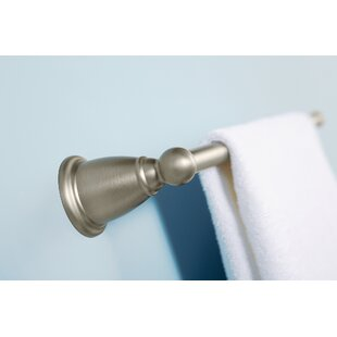 Best Reviews Brantford 18 Wall Mounted Towel Bar ByMoen