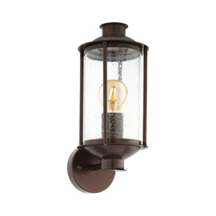 Nadya Outdoor Wall Lantern By Marlow Home Co.