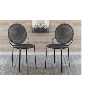 Bungalow Rose Carpio Open Side Chair (Set of 2)