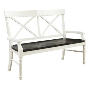 Beachcrest Home Musso Wood Bench