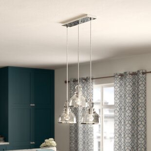 Copeland 3-Light Kitchen Island Pendant