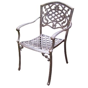 Mississippi Stacking Patio Dining Chair (Set of 4)