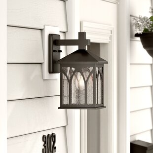 Best Choices Ledbetter  Cast Aluminum Wall Lantern By Charlton Home