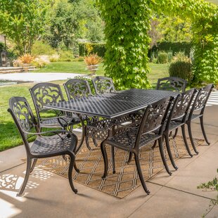 Darby Home Co Savannah 9 Piece Dining Set