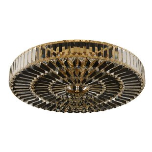 Willa Arlo Interiors Valentin 6-Light Flush Mount