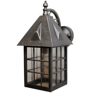 Darby Home Co Kiss Series 1-Light Outdoor Wall Lantern