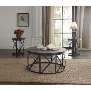 Giona 3 Piece Coffee Table Set