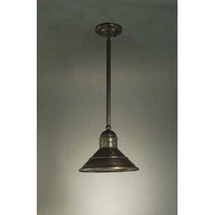 Northeast Lantern Barn 1-Light Cone Pendant
