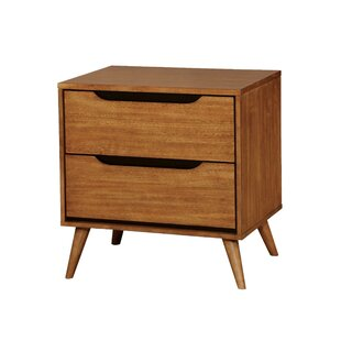 Buying Mollie Mid-Century 2 Drawer Nightstand by Corrigan Studio