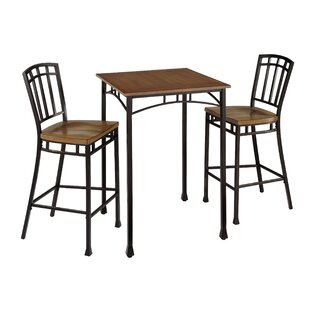 Bilboa 3 Piece Pub Table Set