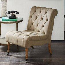 Aurora  Pellerin Slipper Chair by Ophelia & Co.