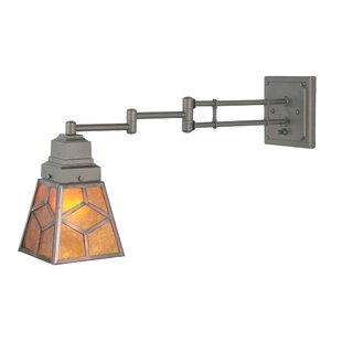 Meyda Tiffany Diamond Mission Swing Arm Lamp
