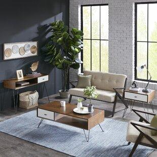 Mercury Row Stender 3 Piece Coffee Table Set