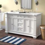 Riccardo 60 Double Bathroom Vanity Set by Darby Home Co