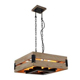 CWI Lighting Verda 8-Light Square/Rectangle Chandelier
