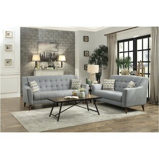 Bodie Upholstered Tufted Configurable Living Room Set by George Oliver