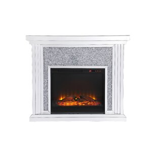 Aarav Electric Fireplace by Ro..