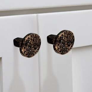 Decorative Patina Cabinet Oval Knob (Set of 8)