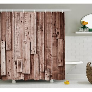 Beauville Vintage Barn Floor Art Single Shower Curtain