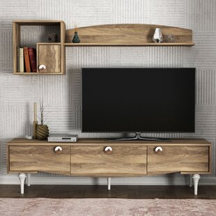 Alhambra Entertainment Unit For TVs Up To 65
