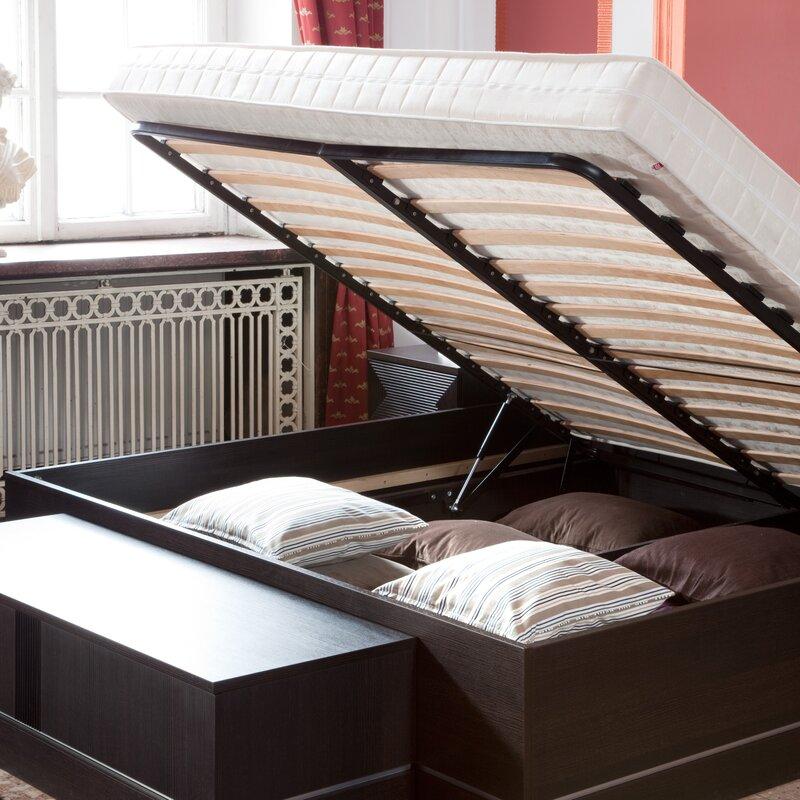 Brayden Studio Stapleton King Bed Frame & Reviews | Wayfair